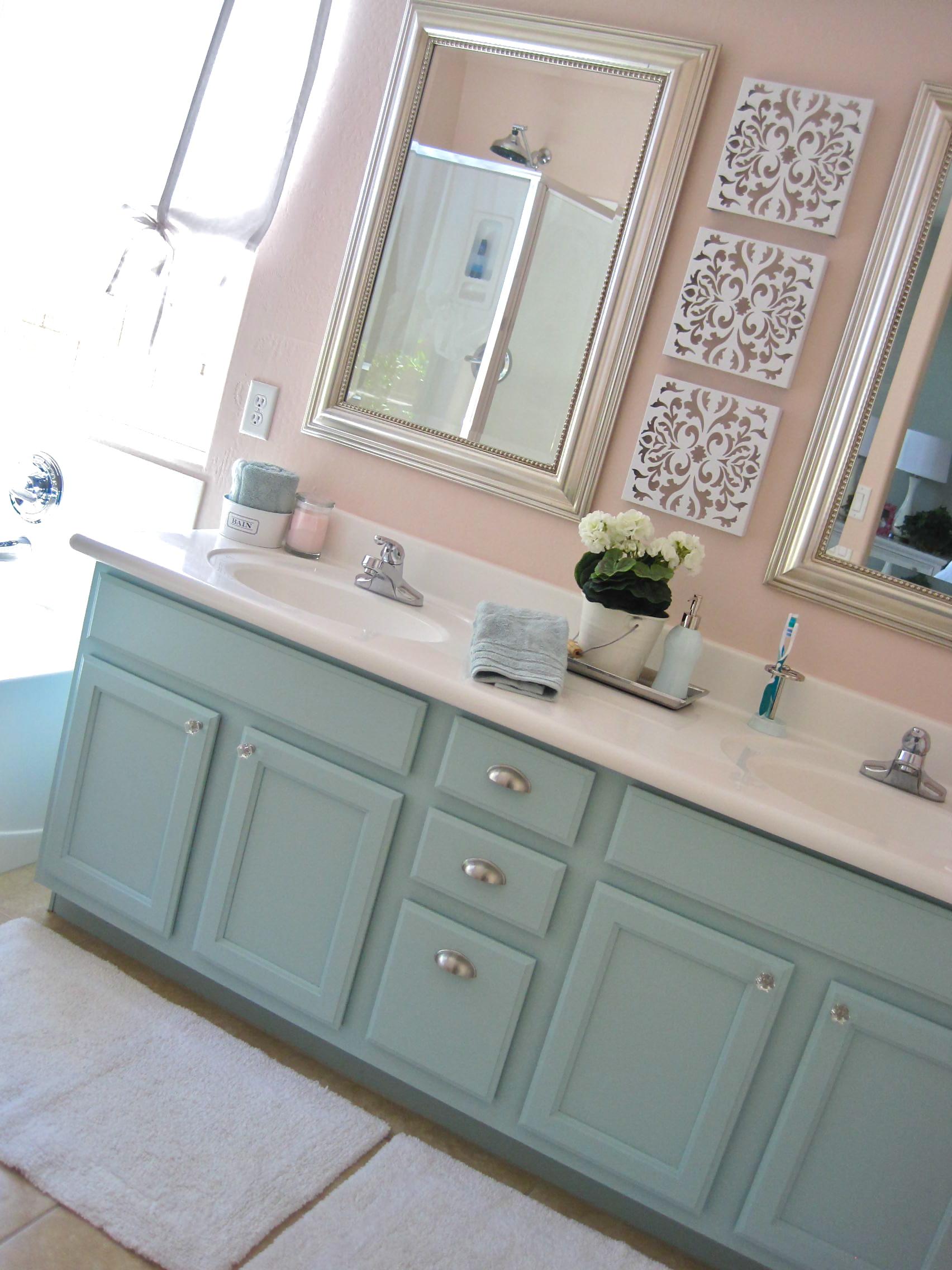 Diy Bathroom Vanity Makeover - Read