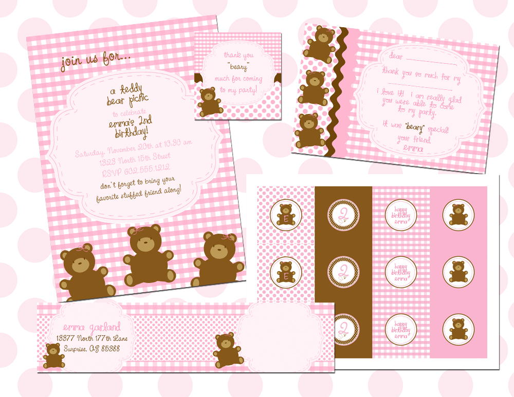 Fresh Chick Monday {real party – Teddy Bear Picnic} | fresh chick ...